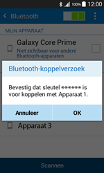 Samsung Galaxy Core Prime (G360F) - bluetooth - headset, carkit verbinding - stap 7