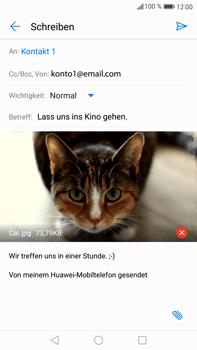 Huawei Mate 9 - E-Mail - E-Mail versenden - Schritt 15