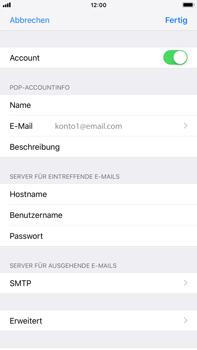 Apple iPhone 6 Plus - iOS 12 - E-Mail - Konto einrichten - Schritt 16