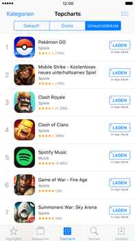 Apple iPhone 6s Plus - Apps - Herunterladen - 9 / 19