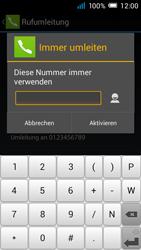 Alcatel Pop C7 - Anrufe - Rufumleitungen setzen und löschen - 9 / 11
