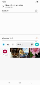 Samsung Galaxy Note 10+ - Contact, Appels, SMS/MMS - Envoyer un MMS - Étape 16
