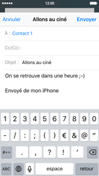 Apple iPhone 5 iOS 9 - E-mail - Envoi d
