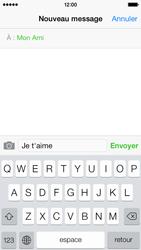 Apple iPhone 5c - Contact, Appels, SMS/MMS - Envoyer un SMS - Étape 7
