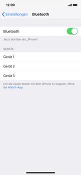 Apple iPhone X - iOS 12 - Bluetooth - Geräte koppeln - Schritt 7