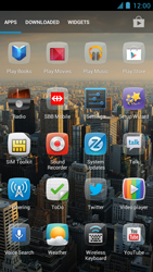 Alcatel One Touch Idol - Applications - setting up the application store - Step 3