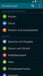 Samsung Galaxy S5 Mini - Fehlerbehebung - Handy zurücksetzen - 6 / 11
