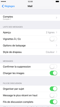 Apple Apple iPhone 6 Plus iOS 10 - E-mail - Configuration manuelle - Étape 31