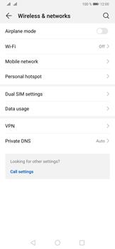 Huawei P30 Pro - Internet and data roaming - Disabling data roaming - Step 4