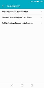 Huawei Honor 9 Lite - Fehlerbehebung - Handy zurücksetzen - 9 / 12
