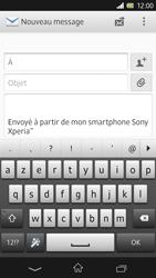 Sony Xpéria Z - E-mails - Envoyer un e-mail - Étape 5