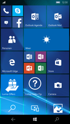 Microsoft Lumia 950 - Applicaties - Account instellen - Stap 1