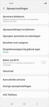 Samsung galaxy-xcover-pro-sm-g715fn - Voicemail - Handmatig instellen - Stap 6