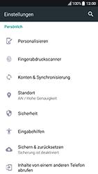 HTC 10 - Android Nougat - Fehlerbehebung - Handy zurücksetzen - Schritt 6