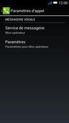 Alcatel OT-6012X Idol Mini - Messagerie vocale - configuration manuelle - Étape 8