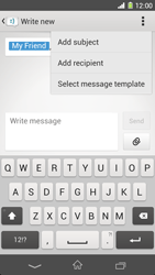 Sony C6903 Xperia Z1 - MMS - Sending pictures - Step 11