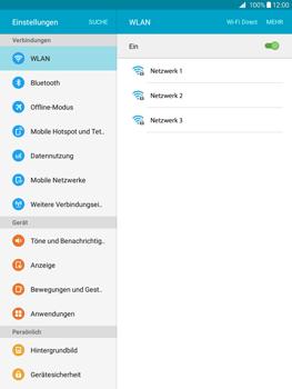 Samsung T555 Galaxy Tab A 9.7 - WLAN - Manuelle Konfiguration - Schritt 5