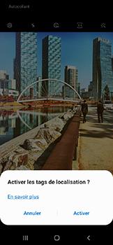 Samsung Galaxy A20e - Photos, vidéos, musique - Créer une vidéo - Étape 5
