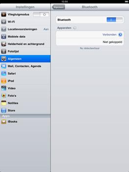 Apple iPad 2 - Bluetooth - koppelen met ander apparaat - Stap 8