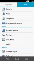 Huawei Ascend P6 - Apps - Eine App deinstallieren - Schritt 4