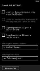 HTC Windows Phone 8X - E-mail - configuration manuelle - Étape 16