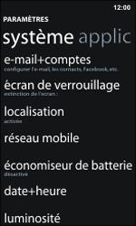Nokia Lumia 800 / Lumia 900 - Internet et roaming de données - Configuration manuelle - Étape 6