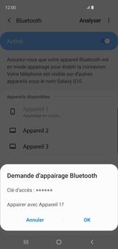 Samsung Galaxy S10 - Bluetooth - Jumelage d