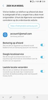 Samsung Galaxy A9 - Beveiliging en privacy - zoek mijn mobiel activeren - Stap 10