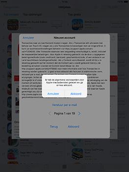 Apple ipad-pro-9-7-inch-met-ios10-model-a1674 - Applicaties - Account aanmaken - Stap 10