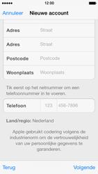 Apple iPhone 5s - Applicaties - Account instellen - Stap 21