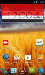 ZTE Blade III - Startanleitung - Installieren von Widgets und Apps auf der Startseite - Schritt 8