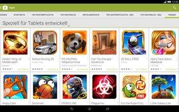 Sony Xperia Tablet Z2 LTE - Apps - Herunterladen - 13 / 20