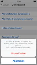 Apple iPhone 5s - Fehlerbehebung - Handy zurücksetzen - 9 / 11