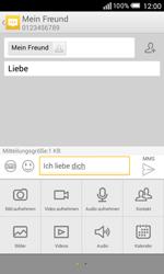 Alcatel OT-5050X Pop S3 - MMS - Erstellen und senden - Schritt 15