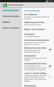 Samsung Galaxy Note 8-0 - Anrufe - Anrufe blockieren - 6 / 14