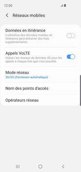 Samsung Galaxy S10e - Réseau - Comment activer une connexion au réseau 4G - Étape 6