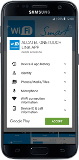 Alcatel MiFi Y900 - Applications - Download application for the smartphone - Step 9