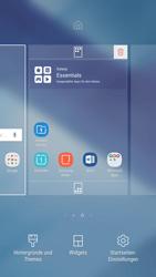 Samsung Galaxy A5 (2017) - Android Nougat - Startanleitung - Installieren von Widgets und Apps auf der Startseite - Schritt 4