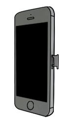 Apple iPhone 5 - SIM-Karte - Einlegen - Schritt 5