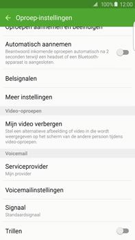 Samsung G928F Galaxy S6 Edge + - Voicemail - Handmatig instellen - Stap 6
