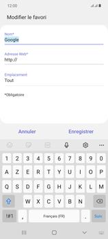 Samsung Galaxy Note20 - Internet et connexion - Naviguer sur internet - Étape 11