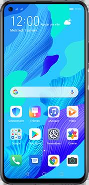 Huawei Nova 5T - Téléphone mobile - Comment effectuer une réinitialisation logicielle - Étape 2
