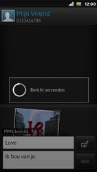 Sony ST25i Xperia U - MMS - Afbeeldingen verzenden - Stap 15