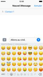 Apple iPhone SE - iOS 10 - iOS features - Envoyer un iMessage - Étape 13