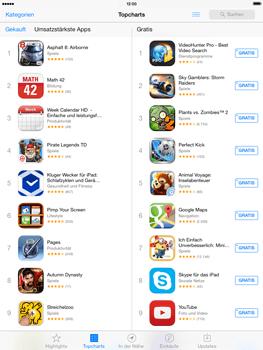 Apple iPad 4 mit iOS 7 - Apps - Herunterladen - Schritt 7