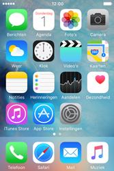 Apple iPhone 4S iOS 9 - MMS - hoe te versturen - Stap 1