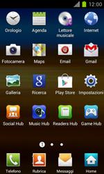Samsung Galaxy S II - Rete - Selezione manuale della rete - Fase 3