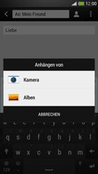 HTC One Mini - MMS - Erstellen und senden - Schritt 15