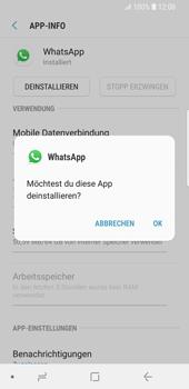 Samsung Galaxy S9 - Apps - Eine App deinstallieren - Schritt 7