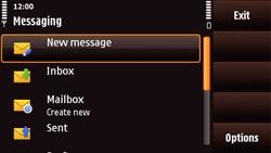 Nokia N97 Mini - E-mail - Manual configuration - Step 4